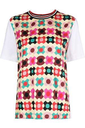 La DoubleJ Senhora T-shirts - Sciura geometric-print T-shirt