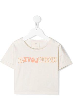 KNOT R(evol)ution cropped T-shirt