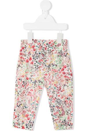 BONPOINT Floral-print cotton trousers