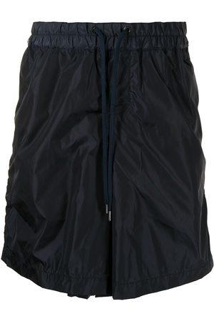 Fumito Ganryu Homem Bermudas - Drawstring-waist shorts