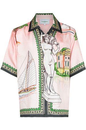 Casablanca Homem Formal - X Browns 50 Lago de Casa shirt
