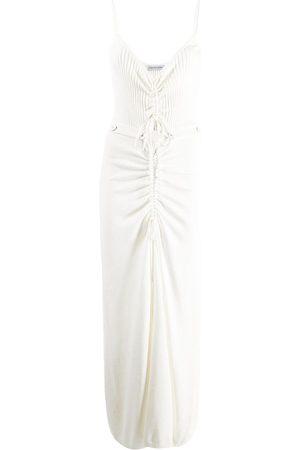 CHRISTOPHER ESBER Ruched-front dress