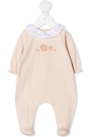 KNOT Floral embroidered babygrow