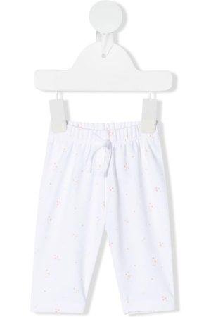 KNOT Bebé Calças - Embroidered drawstring trousers