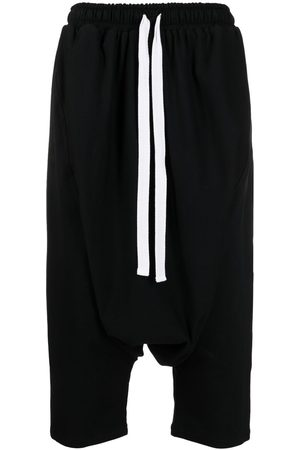 Alchemy Drop-crotch cropped trousers