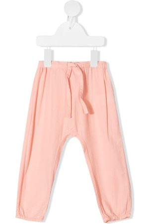 KNOT Drawstring cotton trousers