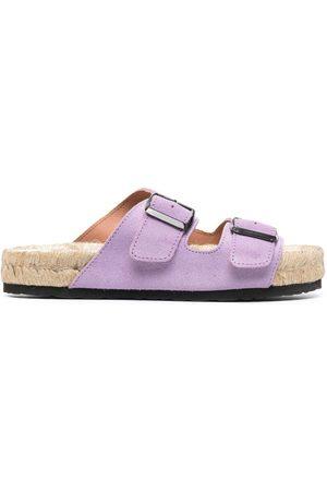 MANEBI Senhora Sandálias com plataforma - Buckled platform sandals