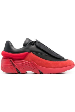 RAF SIMONS Antei two-tone low-top sneakers