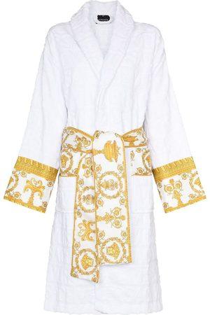 VERSACE Barocco-print bath robe