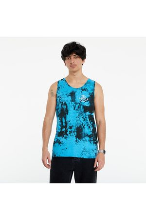 Horsefeathers Shaft Tank Top Blue Tie Dye