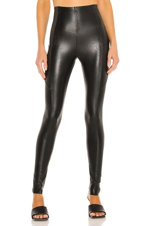 Commando Faux Leather Pocket Legging in - . Size L (also in XS, S, M).
