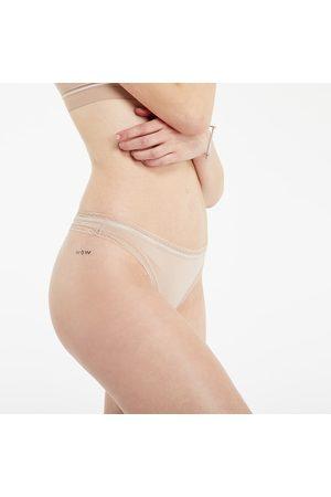 Calvin Klein Senhora Cuecas - Thong Honey Almond