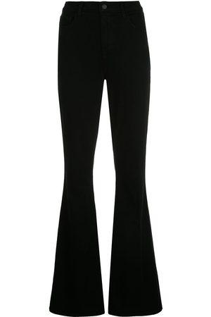 L'Agence Senhora Bootcut & Boca-de-sino - High-rise flared jeans