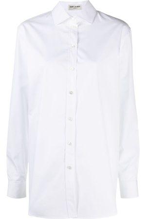 Saint Laurent Oversized poplin shirt