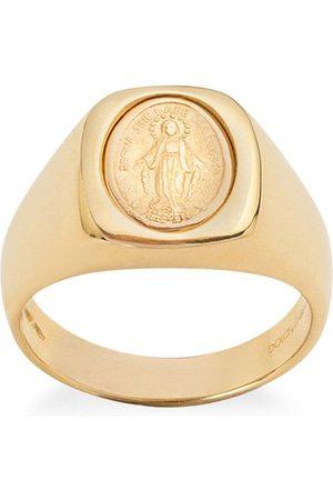 Dolce & Gabbana 18kt Devotion medallion ring