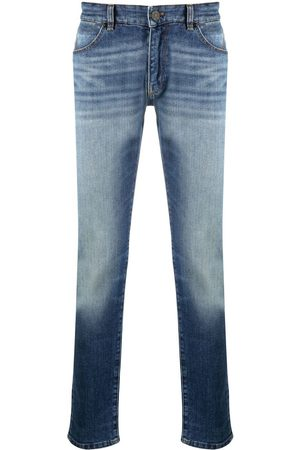 PT01 Low-rise straight-leg jeans