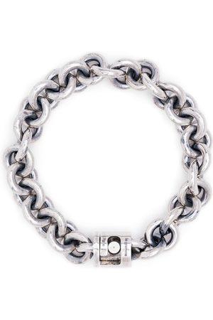 Le Gramme 65g vintage entrelacs bracelet