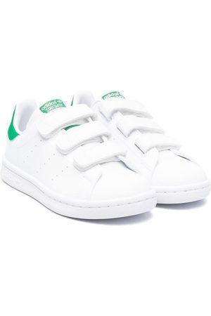 adidas Stan Smith touch-strap trainers