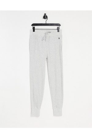 Polo Ralph Lauren Waffle jogger in grey with logo