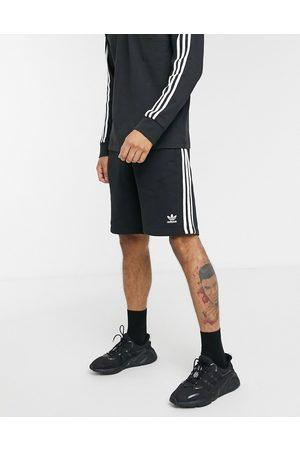 adidas Adicolor three stripe short in black