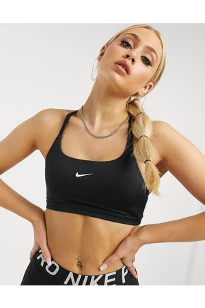 Nike Indy light support sports bra In Black