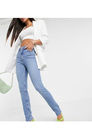 ASOS ASOS DESIGN Tall mid rise vintage 'skinny' jeans in pretty midwash-Blue