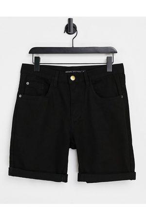 Brave Soul Wash black shorts