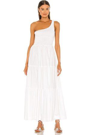SWF Senhora Vestidos Assimétricos - Asymmetrical Dress in - White. Size L (also in XS, S, M).