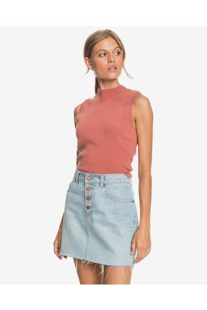 Roxy Spring Muse Crop top Red