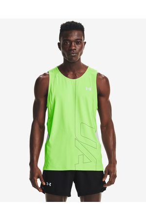 Under Armour Iso-Chill Run 200 Vent Top Green
