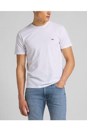 Lee Homem T-shirts & Manga Curta - Patch Logo T-shirt White