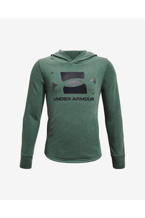 Under Armour Rival Terry Kids Sweatshirt Green