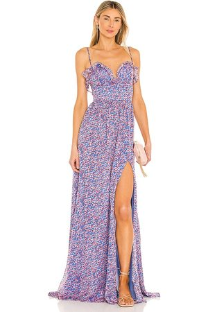 Sau Lee Florence Gown in - Blue. Size 4 (also in 6).