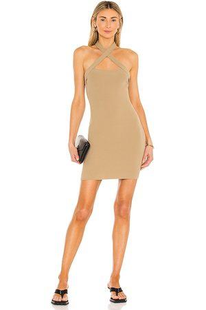 NBD Senhora Vestidos com Decote Halter - Yvette Halter Dress in - . Size L (also in XS, S, M).