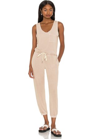 N:philanthropy Senhora Macacões - World Jumpsuit in - Nude. Size L (also in XS, S, M).
