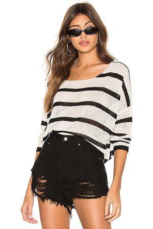 superdown Senhora Camisolas - Adriana Knit Sweater in - White. Size L (also in XS, S, M).