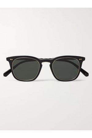 Mr. Leight Getty S Square-Frame Acetate and Titanium Sunglasses