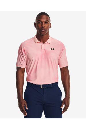 Under Armour Iso-Chill Afterburn Polo T-shirt Pink
