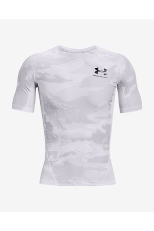 Under Armour HeatGear® Iso-Chill Comp Print T-shirt White