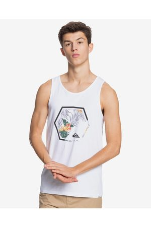 Quiksilver Fading Out Top White
