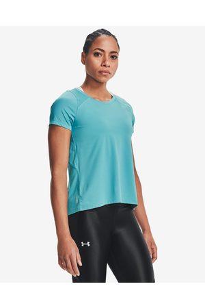 Under Armour Senhora T-shirts & Manga Curta - Iso-Chill Run T-shirt Blue