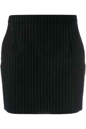 Saint Laurent Pinstriped mini skirt