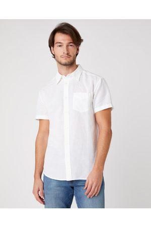 Wrangler Homem Manga curta - Shirt White