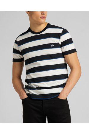 Lee T-shirt Black White