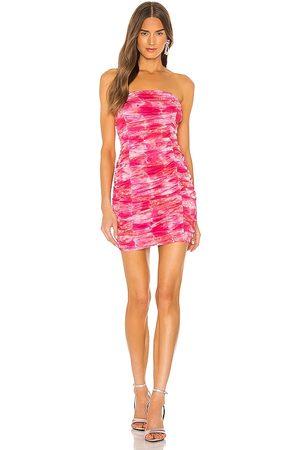 superdown Ivanna Strapless Mini Dress in - Pink. Size L (also in M, S, XL, XS, XXS).