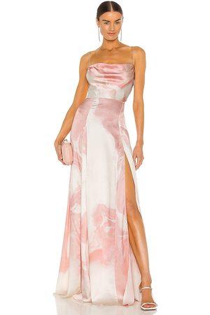 Retrofete Senhora Vestidos de Festa - X REVOLVE Gracie Gown in - Blush. Size L (also in XS).