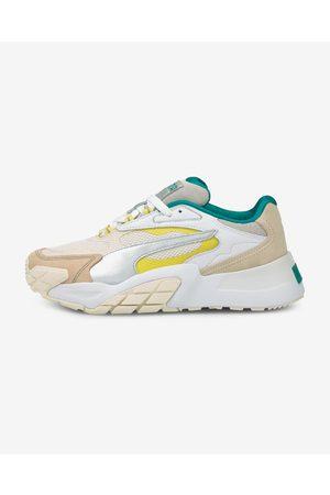 PUMA Senhora Ténis - Hedra Ocean Queen Sneakers White Beige