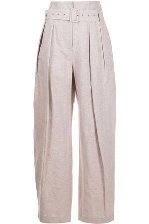 Low Classic High-waisted wide leg trousers