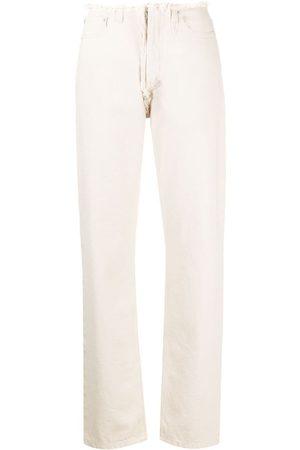 Maison Margiela Senhora Retos - Frayed straight-leg jeans