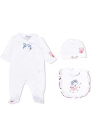 Monnalisa Logo babygrow set